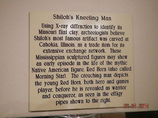 Tennessee River Museum : Description of sculpture (not next)