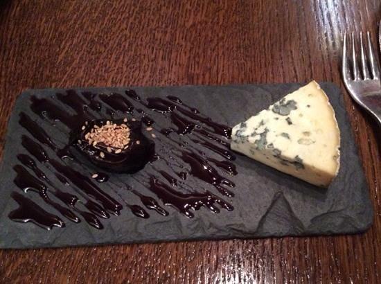 Les Papilles : cheese course
