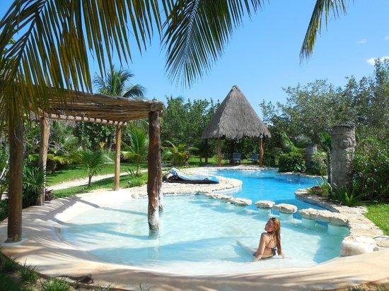 Hotel Villas Delfines: la piscine