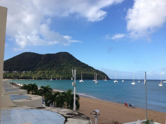 Royal St Lucia Resort and Spa: View from the room!