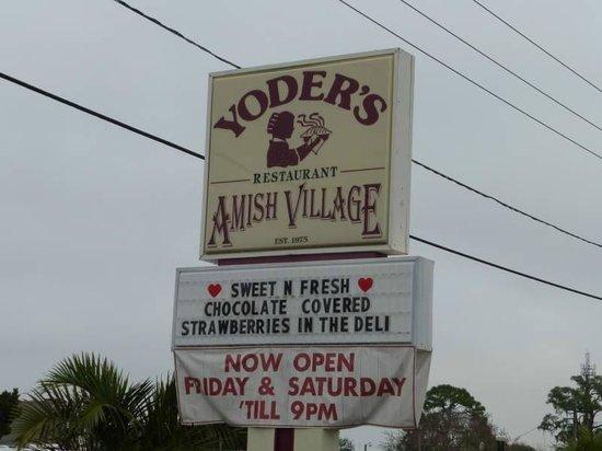 Yoder's Restaurant: Yoder's