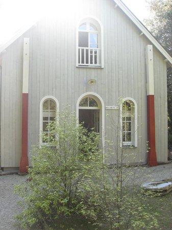 Chateau Richeux : front of the cottage Bigourneau