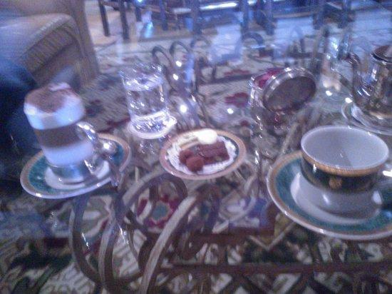 Winter Garden Llao Llao: Rico Cafe