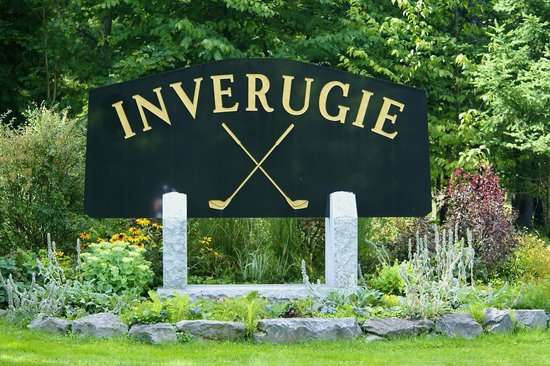 Georgeville, Canada: Inverugie Sign at the Entrance