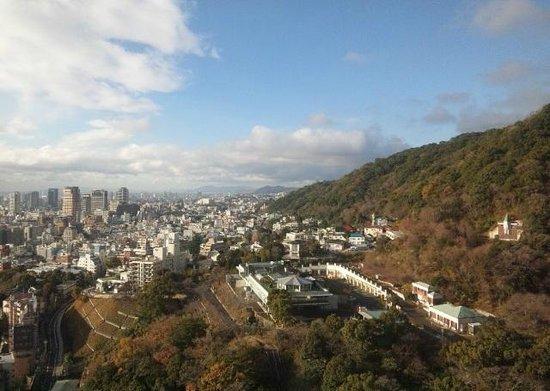ANA Crowne Plaza Kobe: 西側の展望