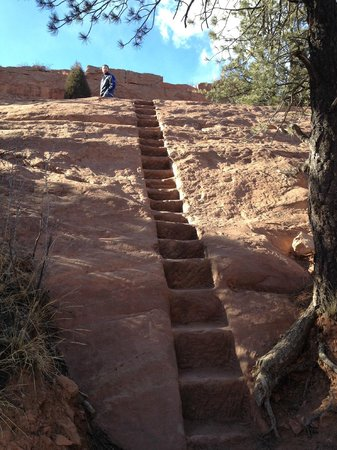 Red Rock Canyon: Yes, we took those steps