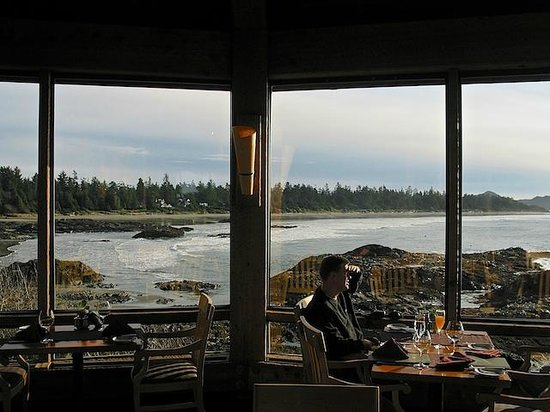 Wickaninnish Inn and The Pointe Restaurant: View from the Pointe Restaurant