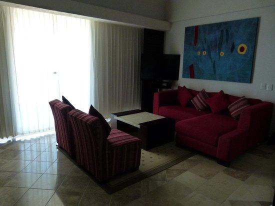 Hyatt Ziva Puerto Vallarta: Sitting area in our room