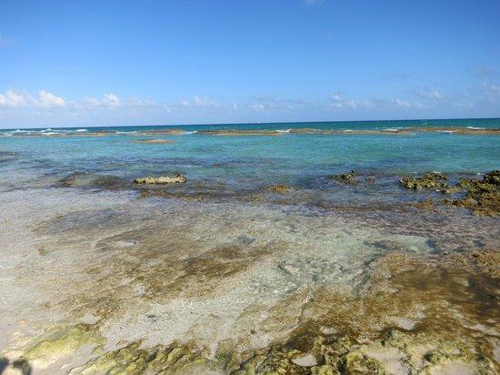 El Dorado Royale, by Karisma: Rocky part of beach.