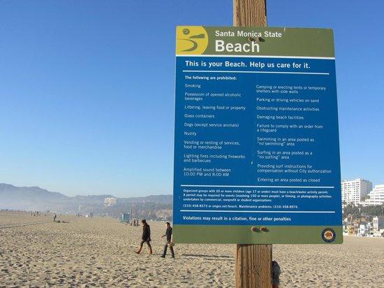 Plage de Santa Monica - Picture of Four Points by Sheraton