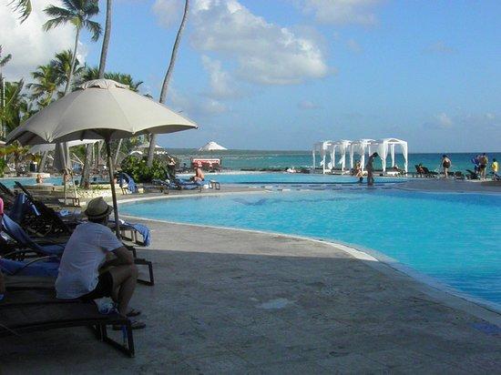Viva Wyndham Dominicus Beach: La pileta de La Roca