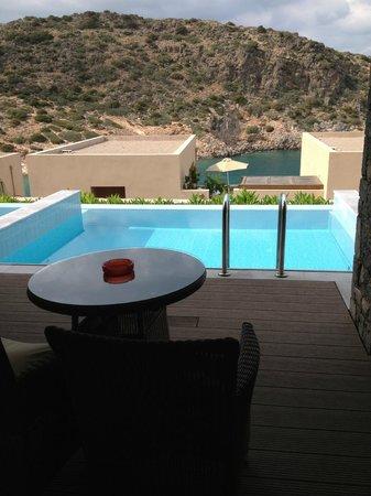 Daios Cove Luxury Resort & Villas: Piscine privée de le chambre