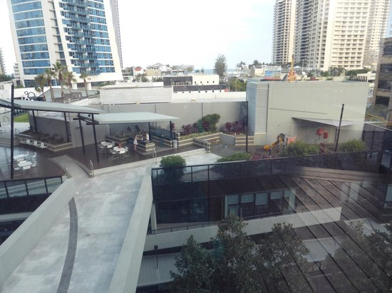 Mantra Circle on Cavill: South BBQ area, and children's play area