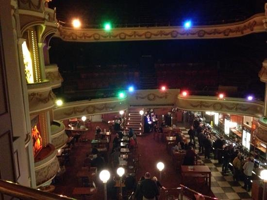 The Palladium: bar in the stalls