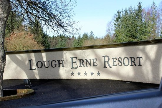 Lough Erne Resort: Entry to the Resort