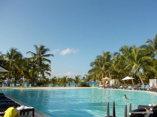 Viva Wyndham Dominicus Palace: Swimming pool area