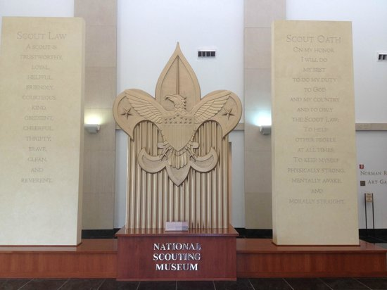 National Scouting Museum: Lobby