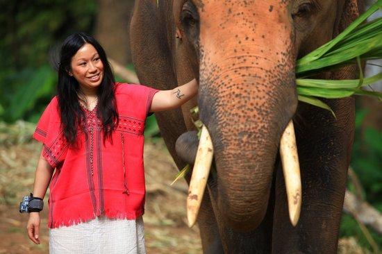 Patara Elephant Farm - Private Tours : Polly and Phujan