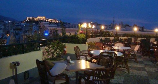 Stanley Hotel: terraza del hotel