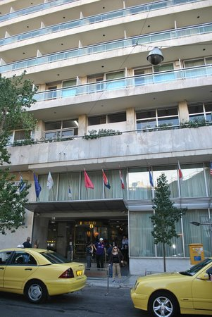 Stanley Hotel: desde el exterior del hotel