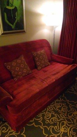 Grand Bohemian Hotel Orlando, Autograph Collection: 02/17/14 Room 1008 Sofa