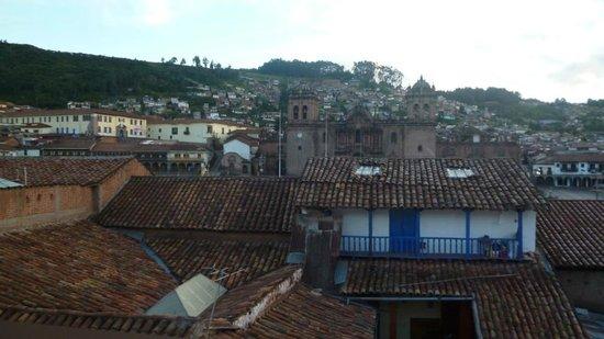 Casa Andina Classic Cusco Plaza: Linda vista desde el comedor del hotel