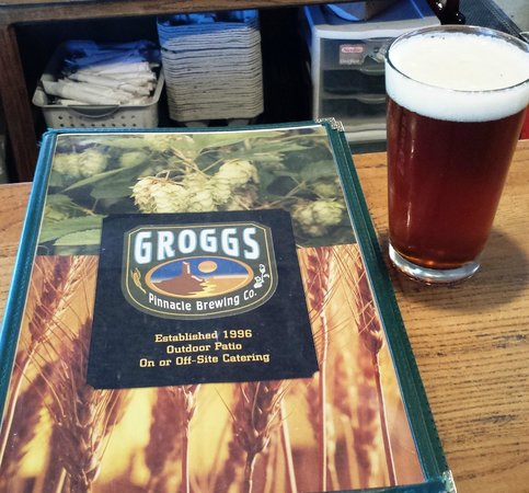 Grogg's Pinnacle Brewing Company: Amber Ale