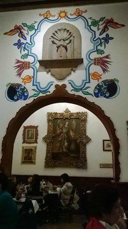 Cafe de Tacuba : Salón principal