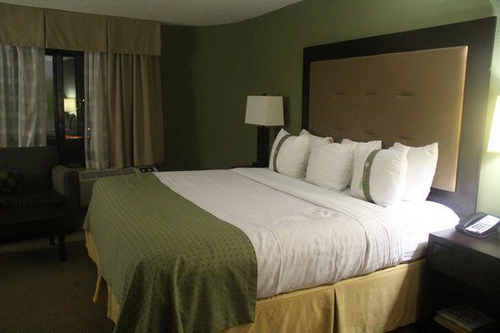 Holiday Inn New Orleans West Bank Tower: king size bed