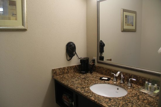 Holiday Inn New Orleans West Bank Tower: vanity