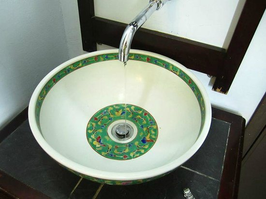 The Baba House: Sink
