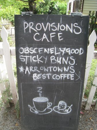 Provisions of Arrowtown Cafe: yes they were!