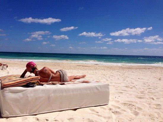 The Beach Tulum: Perfect beach