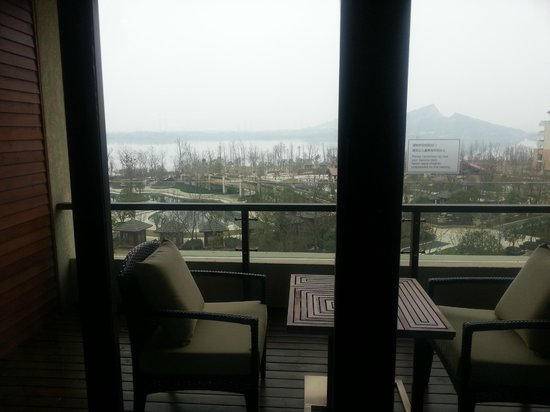 Hilton Wuhan Optics Valley: view out of guest room