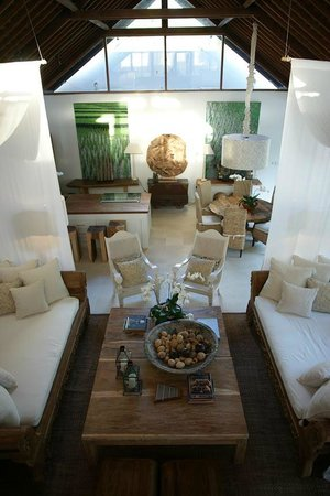 Oazia Spa Villas: Beautiful cozy Living Room