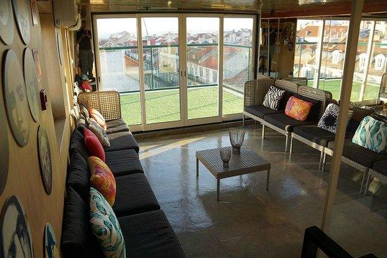 Lisbon Short Stay Apartments Baixa: Roof Terrace