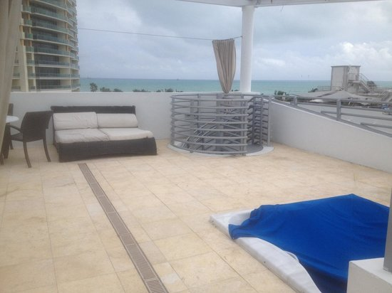 Z Ocean Hotel South Beach: Rooftop Terrance and view