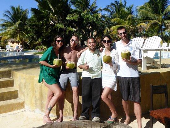 Portofino Beach Resort: Great staff - Orville