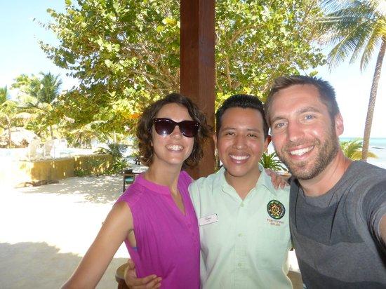 Portofino Beach Resort : Great Staff - Tristian
