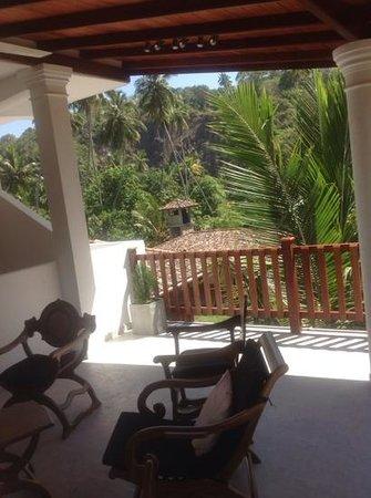 Unawatuna Nor Lanka Hotel: utsikt fra den ene terrassen