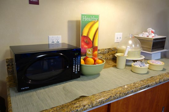 Quality Inn & Suites - Anaheim Resort: Breakfast is included - fruit, hard boiled eggs