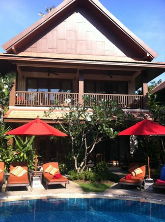 Rocky's Boutique Resort : Our room was on the ground floor