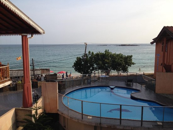 Neptune Bay Hotel : View from Hotel Room on 2nd Floor