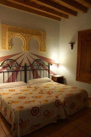 Abadia Hotel Granada : Bedroom