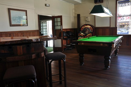 The Royal Hotel Nelson: Pool Table