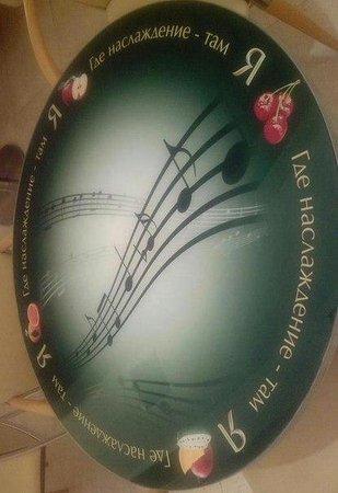 Moscow International House of Music: Московский Дом Музыки/необычное решение для стойки-стола в баре