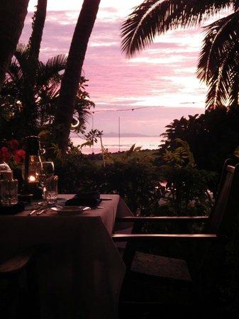 First Landing Beach Resort & Villas: The view from the restaurant.