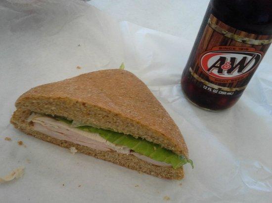 NewBo City Market: Turkey Sandwich