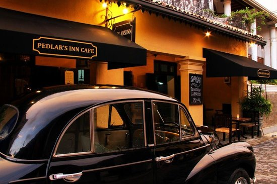 Pedlar's Inn Cafe: Our Trademark our car