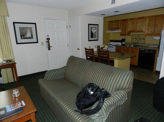 Residence Inn San Diego Central : Interior Habitacion